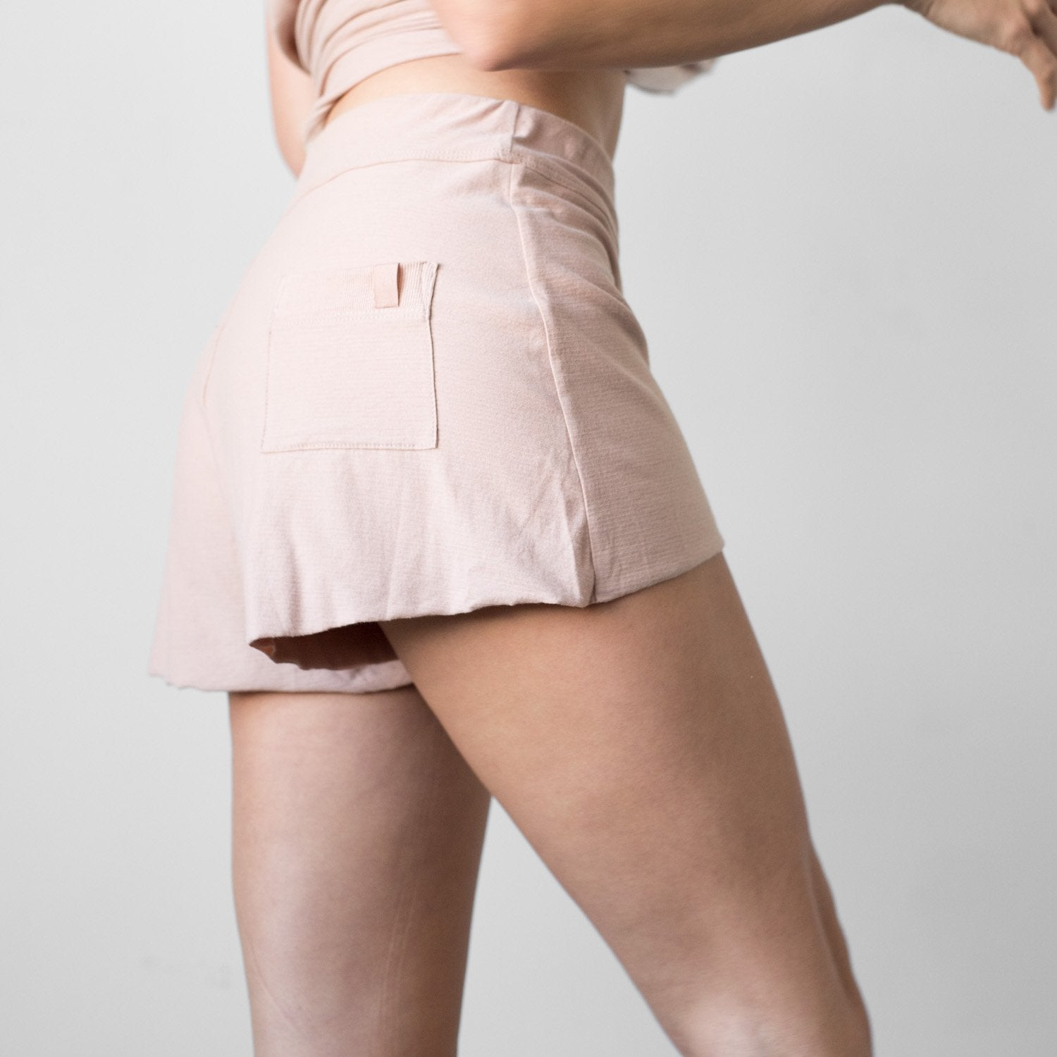 Lunya Sleepwear Cool Short - #Bare/Otium Tan