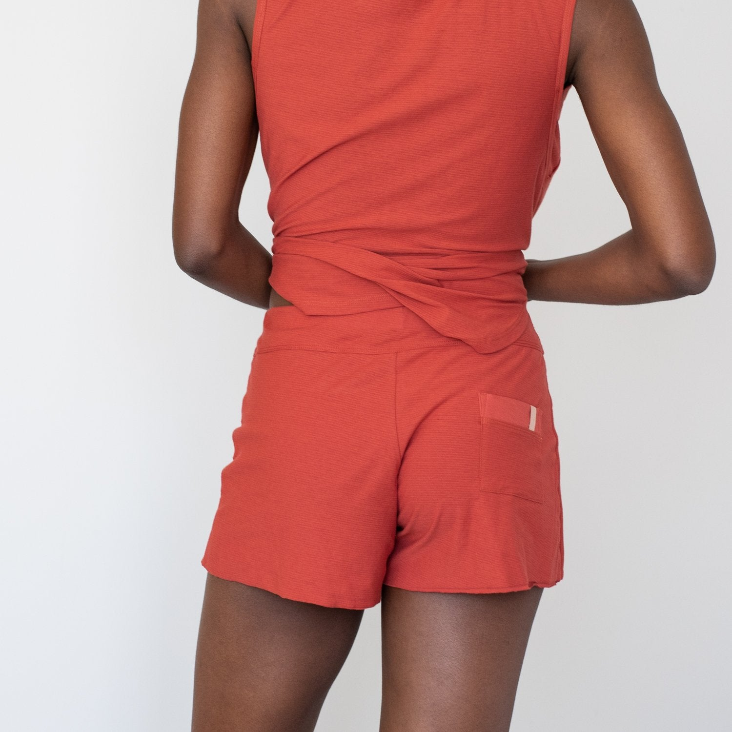 Lunya Sleepwear Cool Short - #Dawn