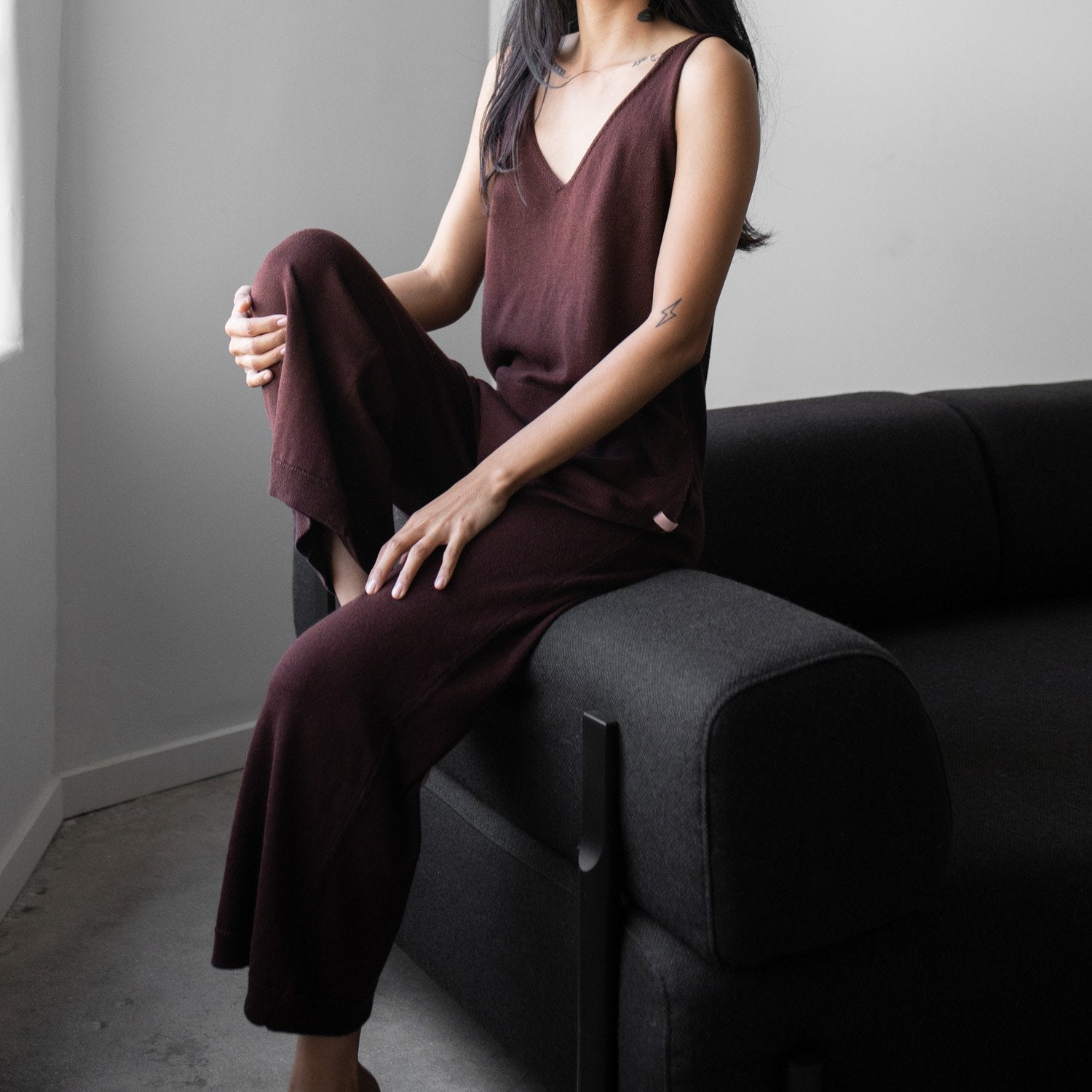 Cozy Pima Wool Jumpsuit