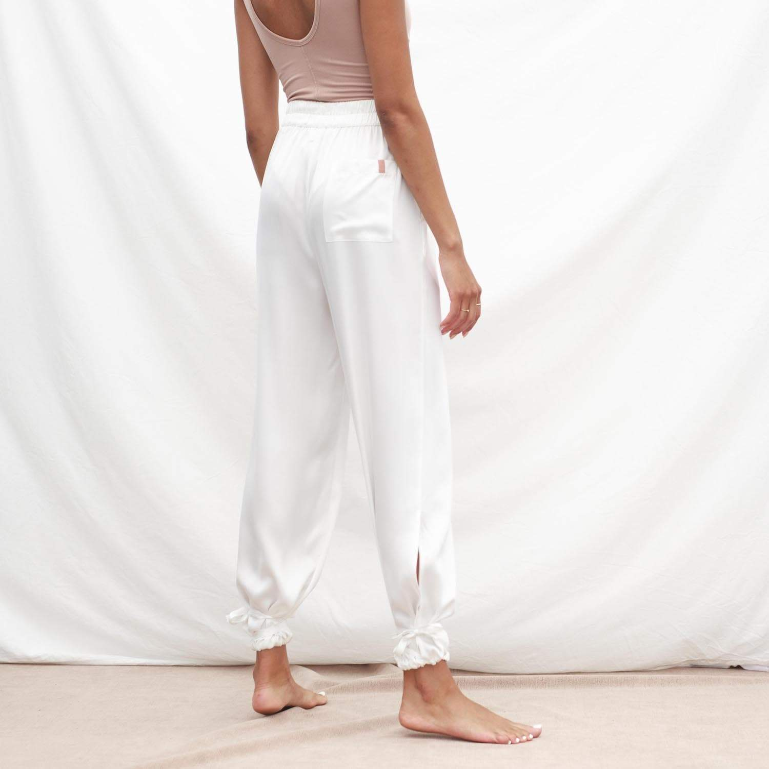 Lunya Sleepwear Prima Washable Silk Pant - #Starlight