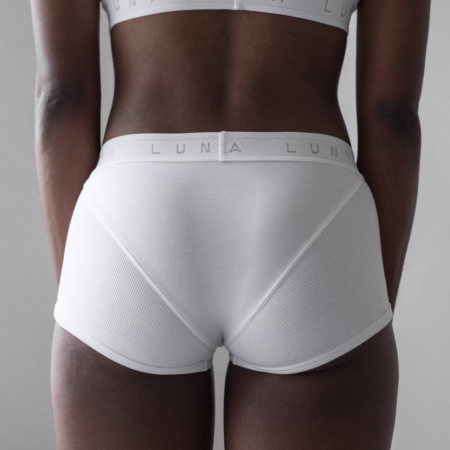 Lunya Sleepwear Supportive Modal Sleep Brief - #White/White