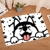 Dog Life  Woa Kitchen Mat