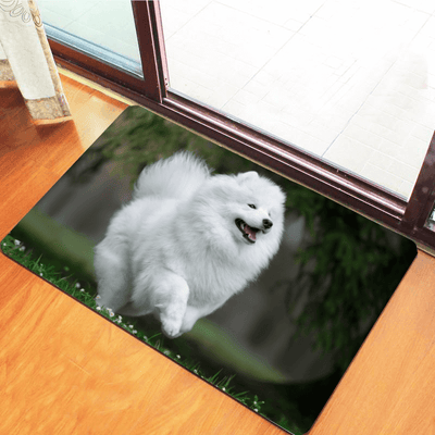 Samoyed Woa Kitchen Mat