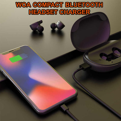 Woa Compact Bluetooth Headset Charger