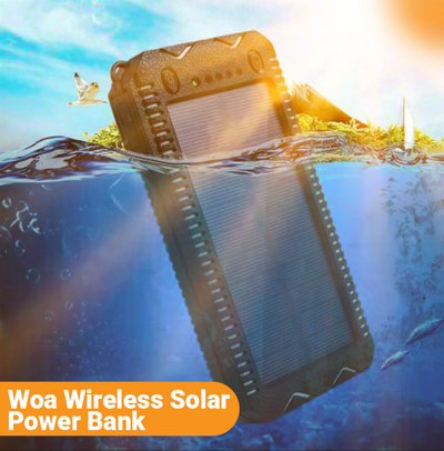 Woa Wireless Solar Power Bank
