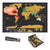 Woa Creative Travel Scratch Map