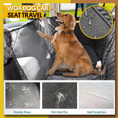 WOA Waterproof Dog Car Seat Cover