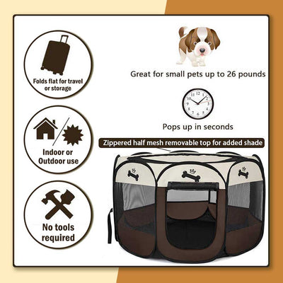 WOA Portable Pet Tent