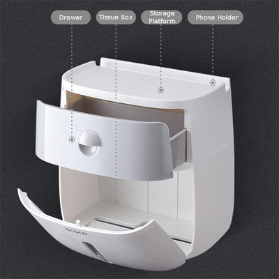 Woa Toilet Paper Dispenser