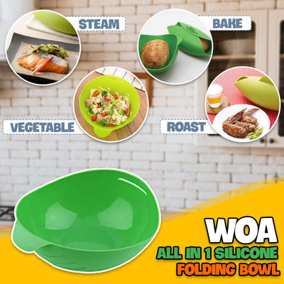 Woa All In 1 Folding Bowl (Ship direct from USA)