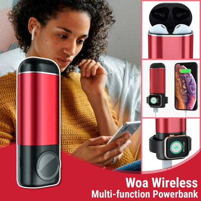 Woa Wireless Multi-function Powerbank