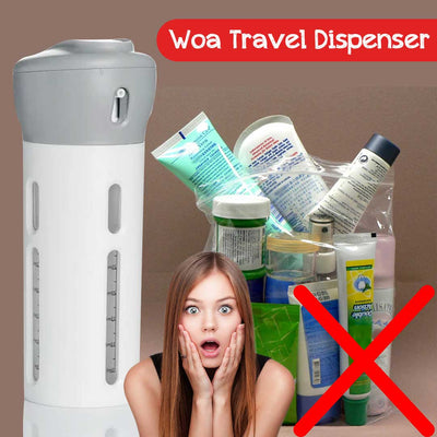 Woa Travel Dispenser