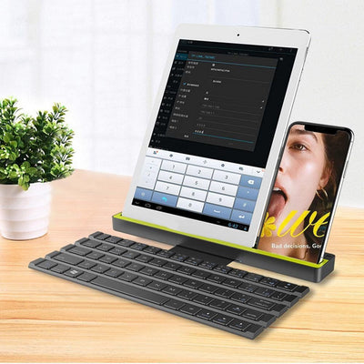 Woa 2 in 1 Smart Foldable Bluetooth Key Board