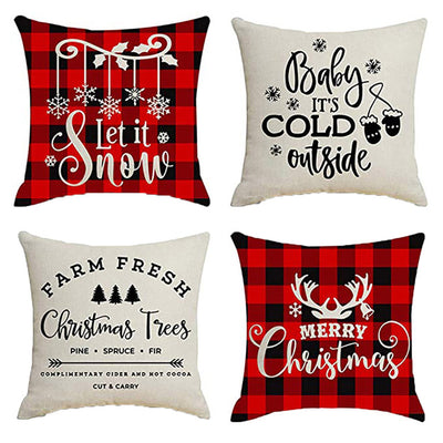 Christmas Cushion 4PCS