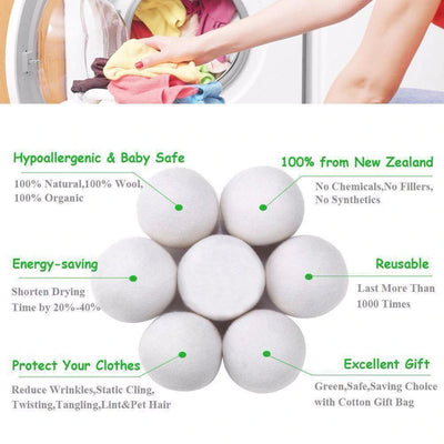 Woa Natural Wool Softener Ball