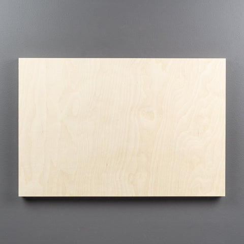 Birch Rectangle Art Boards