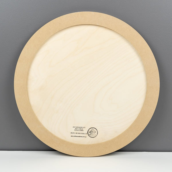 Birch Round Art Boards