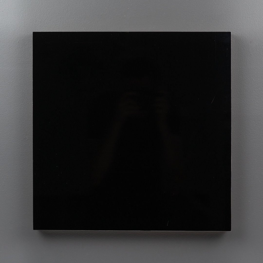 Black Aluminium Square Art Boards