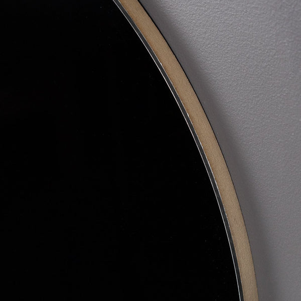 Black Aluminium Round Art Boards
