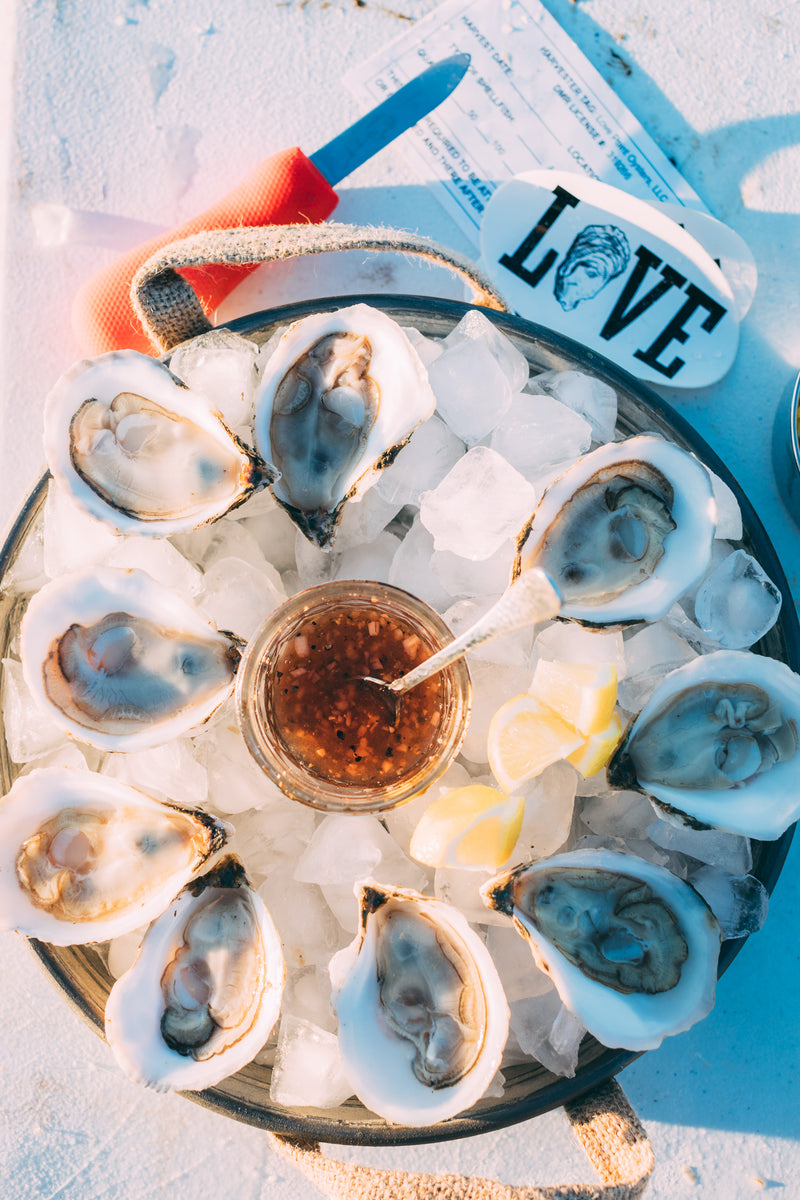 Love Point Oysters - 50 Count