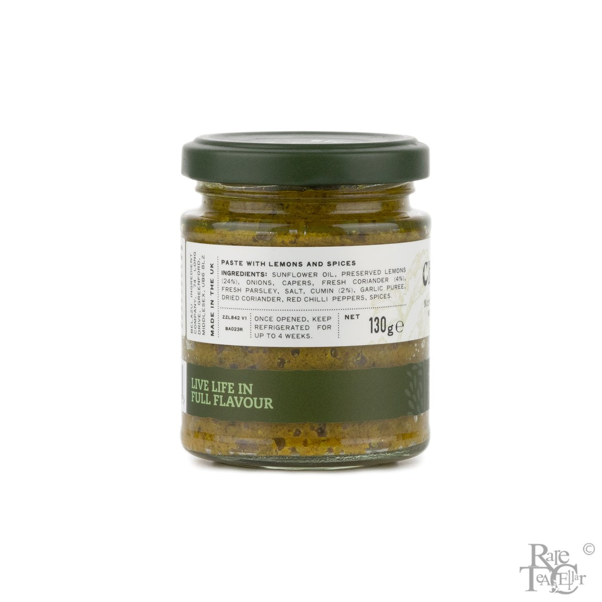 Rare Pantry: Belazu Chermoula Paste