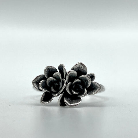 Double Succulent Ring
