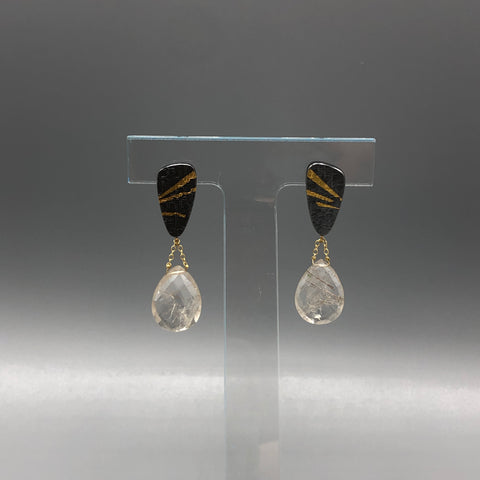 One-of-a-Kind Rutile Drops