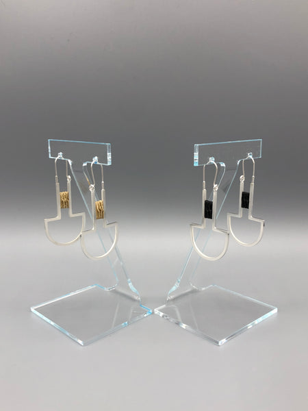 Lashed Earrings
