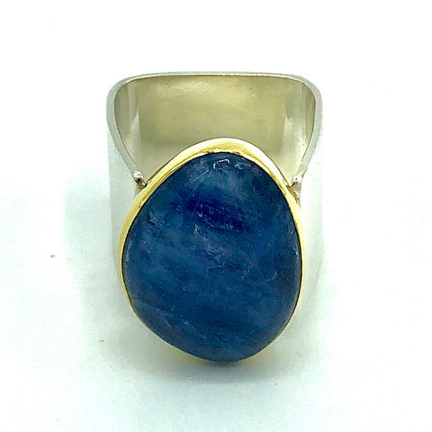 Kyanite Power Ring