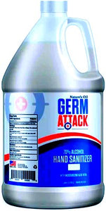 GERM ATTACK SANITIZER WITH PUMP (GAL)