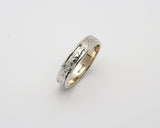 14K NARROW CORRIB CLADDAGH WEDDING BAND