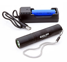 Load image into Gallery viewer, Gulff Pro 365nm/3w UV flashlight