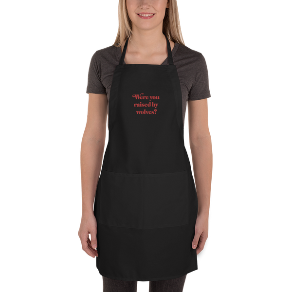 WYRBW Embroidered Apron