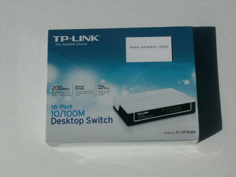 TP-LINK 16-Port Internet Switch EHF Fee included
