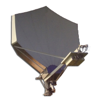 Challanger Comunications 3.8m Offset Satellite Dish