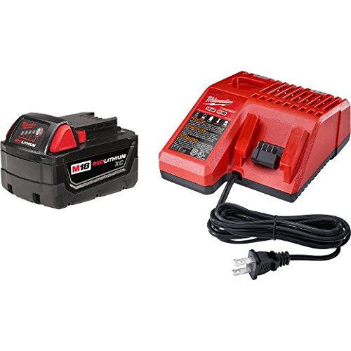 Milwaukee 48-59-1813 M18 18-Volt Starter Kit Includes 3.0Ah XC Battery & Charger