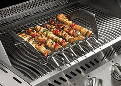 Napoleon Grills 70002 Commercial Pizza Stone with Skewers and Rack