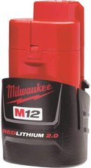Milwaukee 2553-22 12-Volt 1/4-Inch M12 FUEL Hex Impact Driver 2 battery Kit