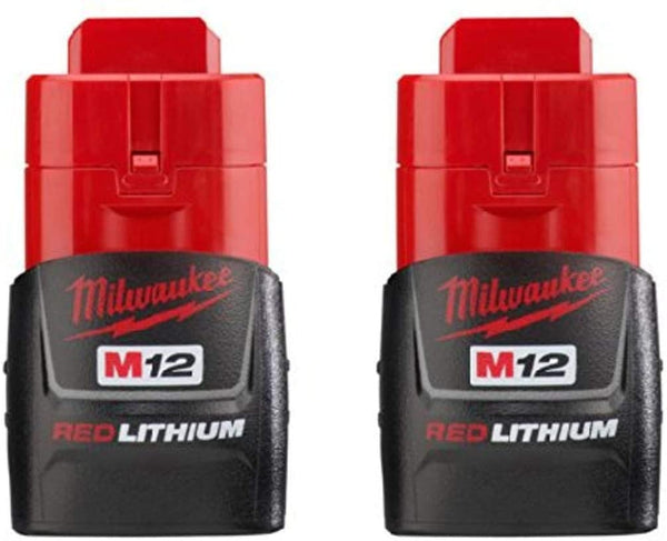 Milwaukee 48-11-2411 M12 REDLITHIUM Compact Battery 2 Pack