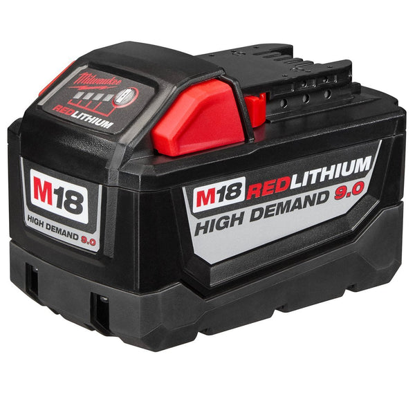 Milwaukee M18 Red Lithium High Demand Battery 48-11-1890 HD 9.0