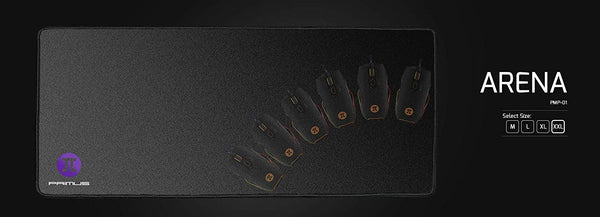 Primus Gaming Mouse Pad-Anti-Slip Rubber Base-Soft Fabric for Smooth Glide- XX-Large