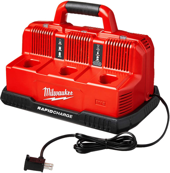 Milwaukee 48-59-1807 M18 and M12 Rapid charge Station (No batteries)