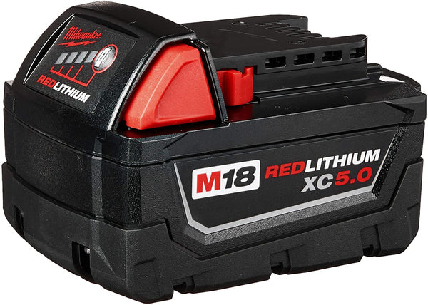 Milwaukee Tool M18 REDLITHIUM XC 5.0 Extended Capacity Battery Pack 48-11-1850