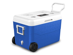 Technical Pro Waterproof Cooler With Rechargeable Bluetooth Speakers & Power Bank