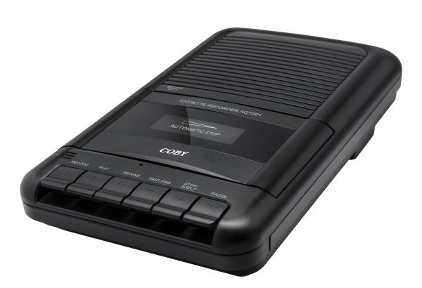 Coby Portable Cassette Tape Recorder
