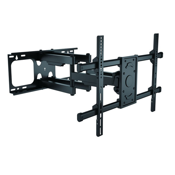 "Heavy Duty Dual Arm Full Motion TV wall mount 143lbs 37""-70"" LCD LED Plasma"