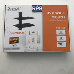Brateck Double (2) Components DVD wall mount shelves floating shelf