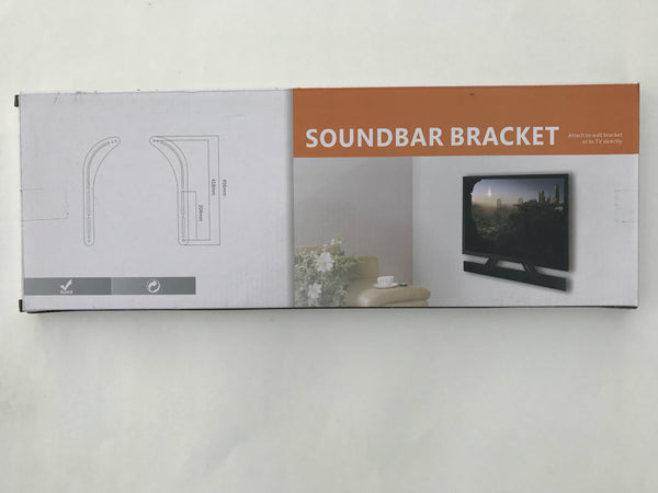 Soundbar Universal Steel bracket Install sound bars above/below TV set Sound Bar