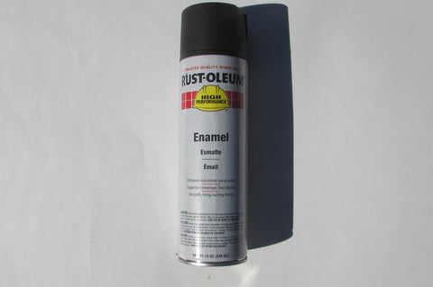 Rust-Oleum V2178838 V2100 System Enamel Spray Paint 15-Ounce Flat Black