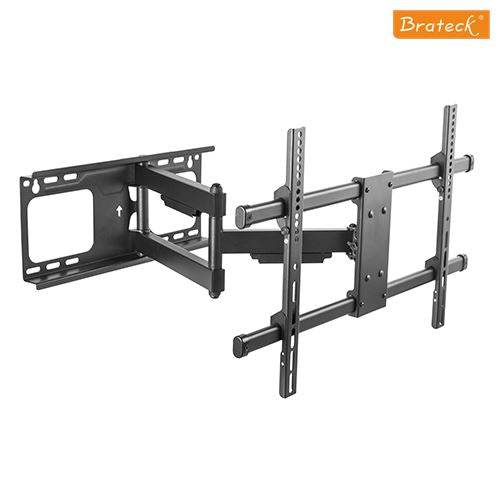 "Super Solid Large Single Arm Heavy Duty Full Motion TV Wall Mount 37""-70"" 60kg (132lbs)"